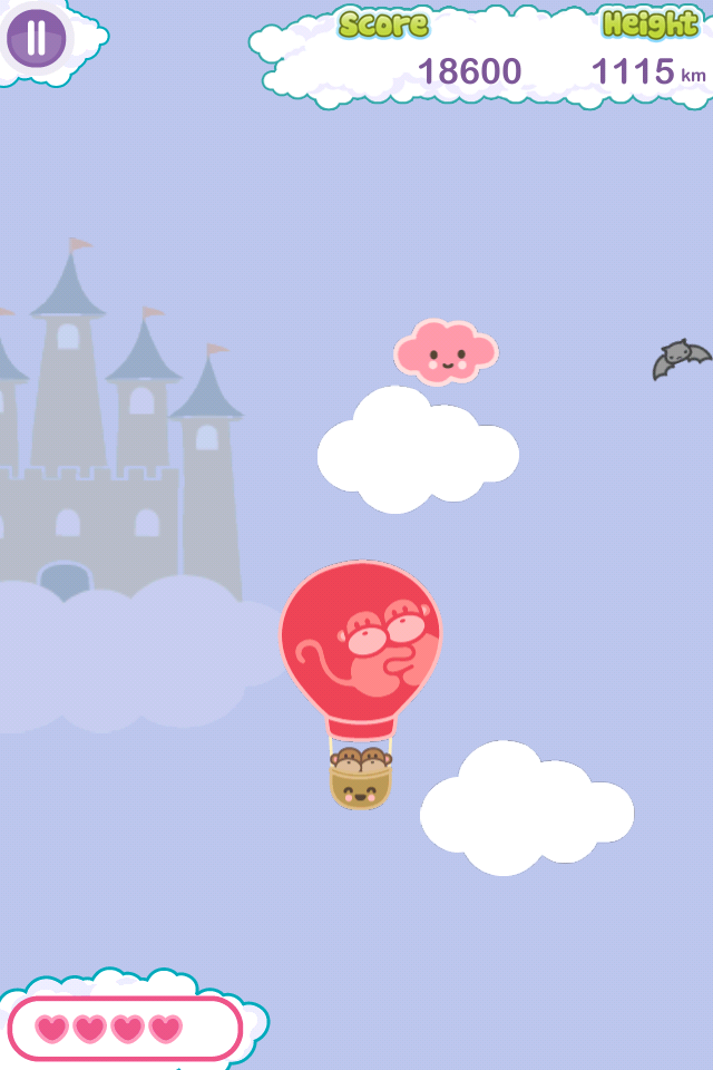 Screenshot Kiwi and Pear's Balloon Adventure