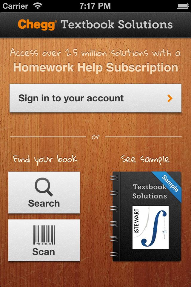 chegg homework help coupon